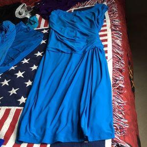 Light blue Lauren dress stretchy